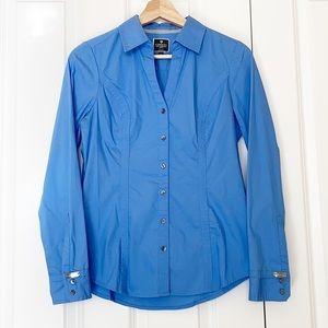 Express Blue Button Down Shirt